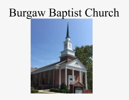 BURGAW BAPTIST CHURCH